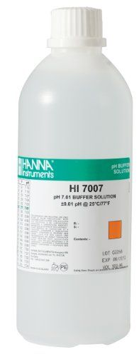 #greatdeal pH 7.01 is the most widely used among all buffer solutions. Prepared it in a wider variety of sizes to meet every application need. #Hanna pH buffer s...