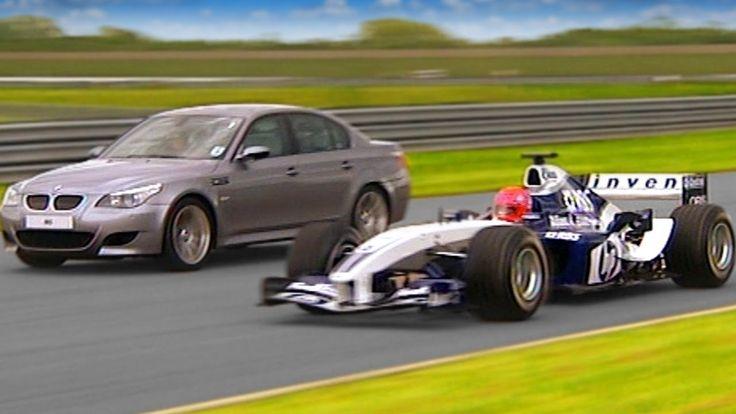 http://heysport.biz/ Williams F1 vs BMW M5 #TBT - Fifth Gear