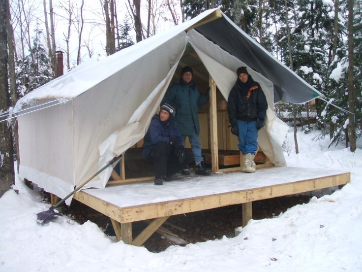 A site with a huge list of canvas tent manufacturers for Tent platform construction