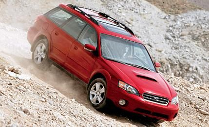 Subaru Outback  I want for camping and road tripping : )