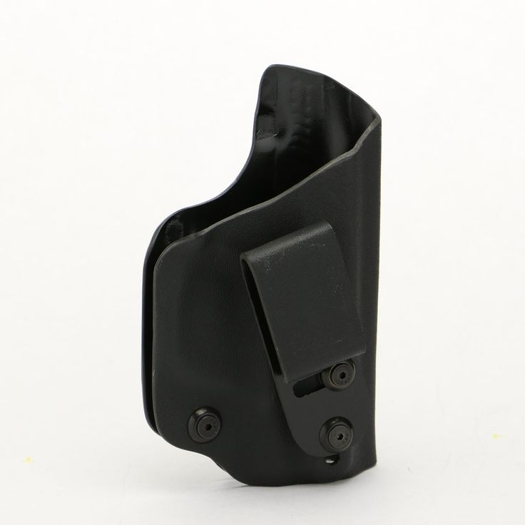 Our Smallest IWB holster is the Deluxe Trapp! Works for Appendix Carry. It features adjustable retention as well as 3 ride height positions.