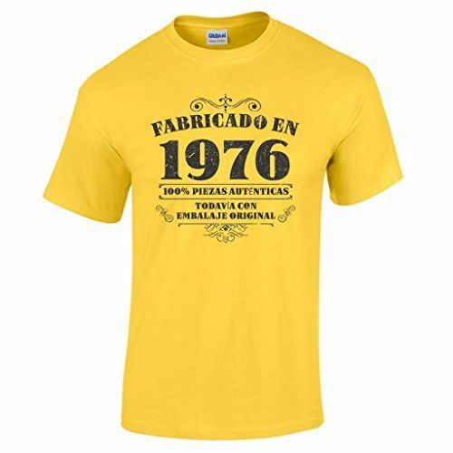 Camiseta de hombre para regalo de 40 cumpleaños Manufactu…