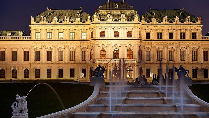 Belvedere Palace and Museum Vienna   Trivium Art History