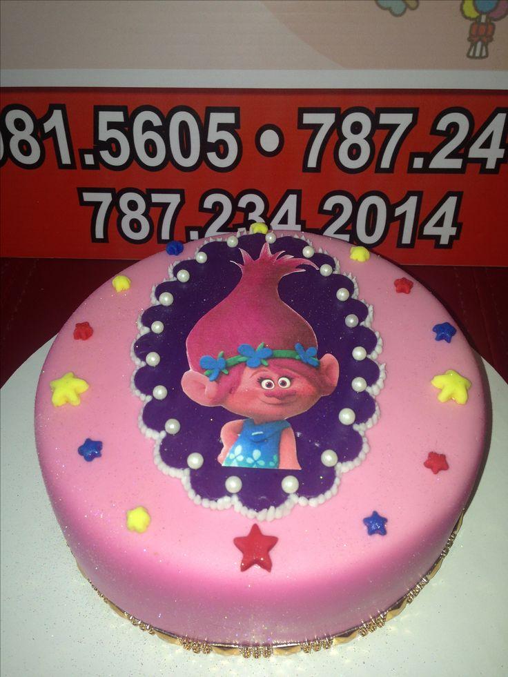 Troll Birthday Cake Instagram #sweetiebeydesserts Facebook- Sweetie Bey Desserts