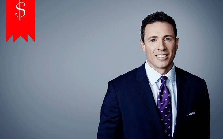 American television journalist Chris Cuomo's net worth estimated to be about $7 million,