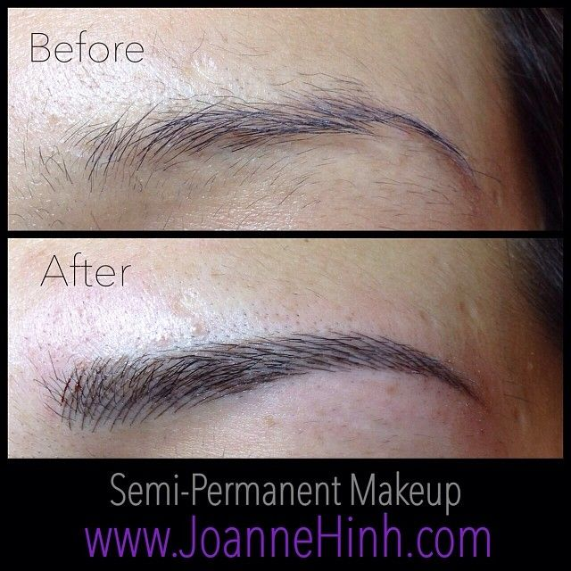 hairstroke eyebrow embroidery by joanne hinh brow embroidery brow tattoo permanent makeup. Black Bedroom Furniture Sets. Home Design Ideas