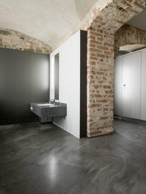 63 besten Design-Spachtelböden \ Treppen Bilder auf Pinterest - fliesenboden modern wohnzimmer
