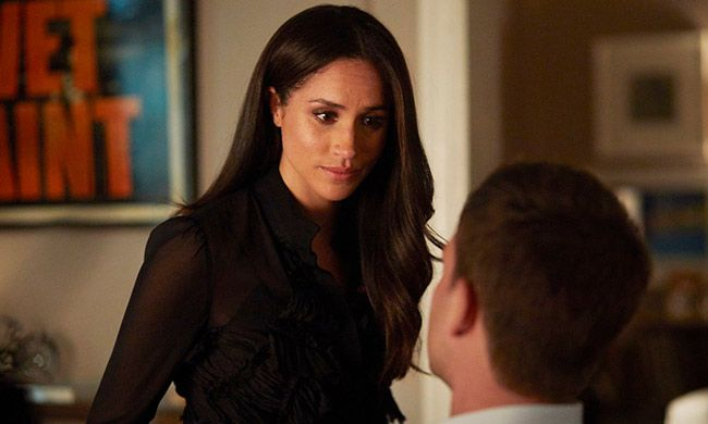 Meghan is engaged on the USA Network show