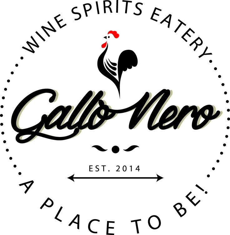 #Logo designed for #GalloNero #Wine #Bar #Spirits #Eatery