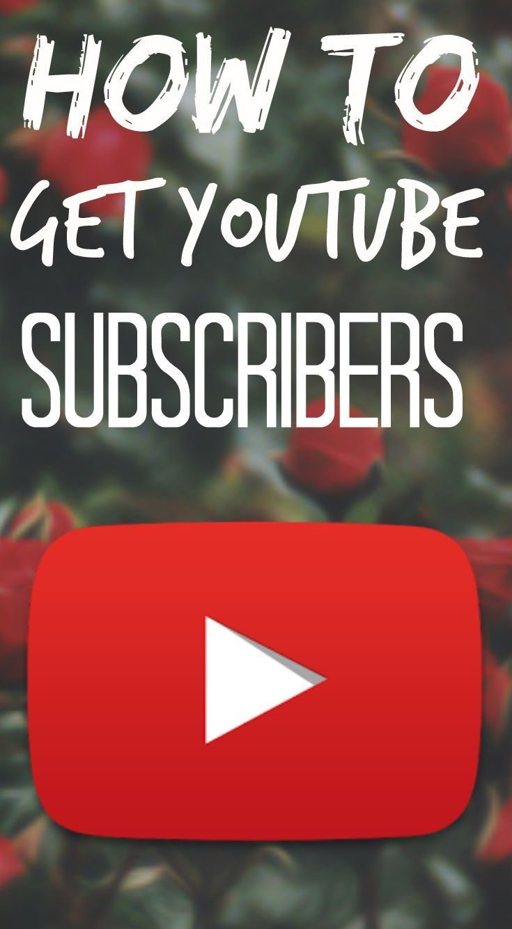 How to get subscribers on YouTube! Great tips on growing your channel.