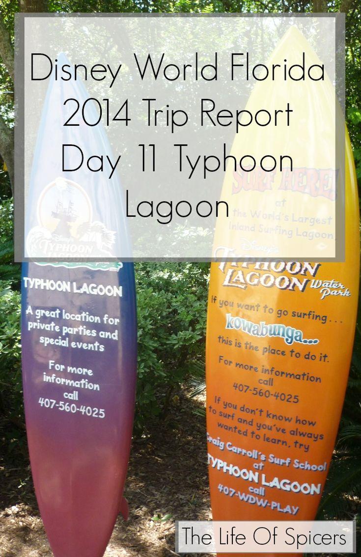 Disney World Florida 2014 Holiday Day 11 Typhoon Lagoon - The Life Of Spicers
