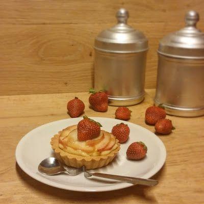 Dolci Mari e Monti  : Crostatine cuor di vaniglia con pesca bianca