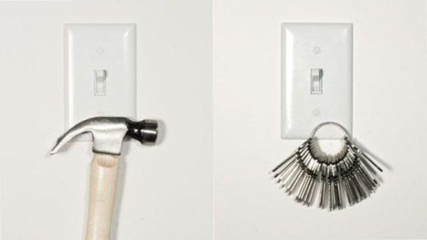Magnetic light switch