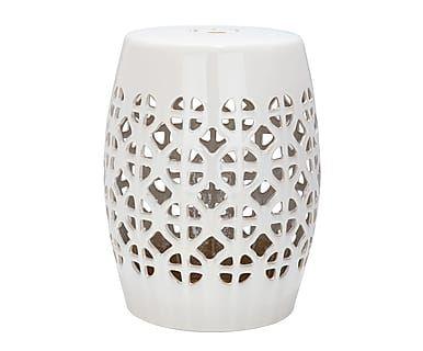 Табурет - глазурованная керамика, Ø33х47 см