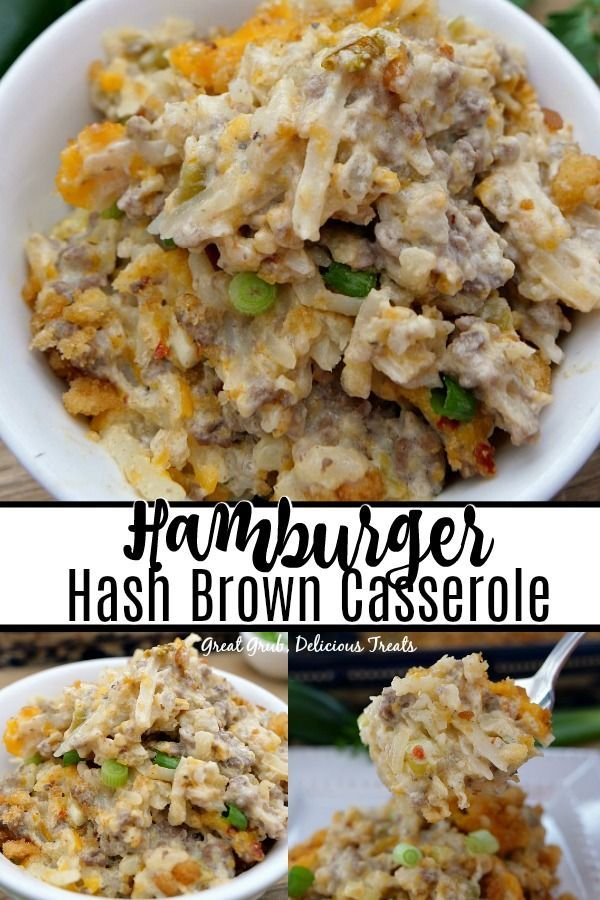 Hamburger Hash Brown Casserole Great Grub Delicious Treats In 2020 Recipes Using Ground Beef Hashbrown Casserole Recipe Beef Casserole Recipes