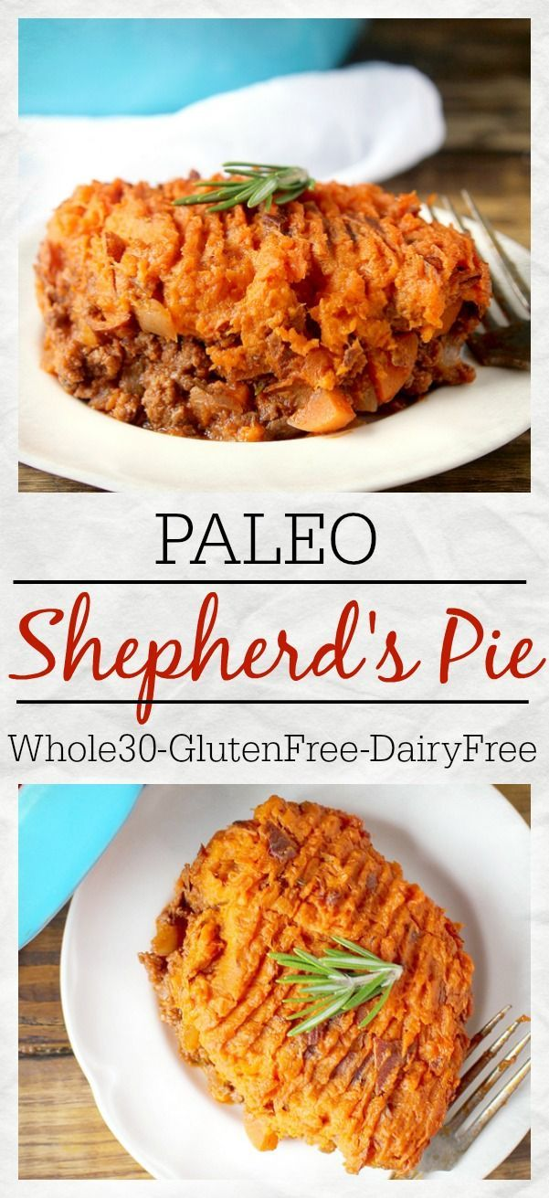 Paleo Shepherd's Pie- pure comfort food, packed with veggies, and so delicious! Whole30, gluten free, dairy free, and easy to make!