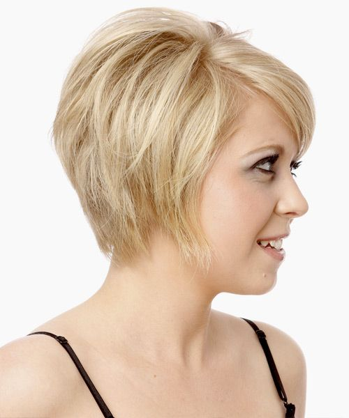 Short Feathered Bangs Short Hair Styles