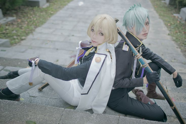 SHU(修) hizamaru, LIU CHIA YU(小穆) Higekiri Cosplay Photo - Cure WorldCosplay