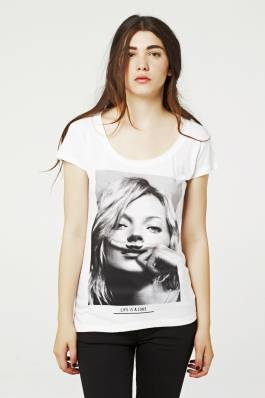 Tee shirt Eleven Paris !  Kate Moss