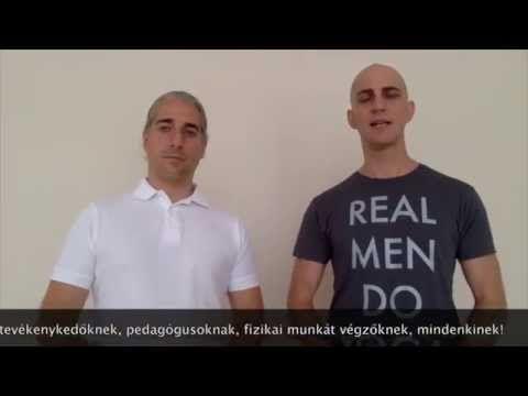 Gerinctorna gyakorlatsor a derékfájás, hátfájás ellen - YouTube