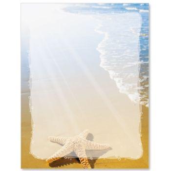 Paradise Found Letter Paper | IdeaArt