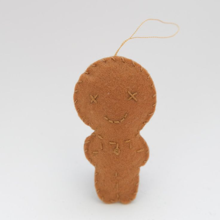 Pleasant gingerbread - gingerbread man, christmas decor, christmas gift, christmas decoration, cute, adorable. by HalloweenOrChristmas on Etsy