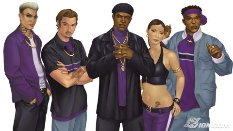 Julius Little is a character in Saints Row, Saints Row 2 and Saints Row IV and founder of the Third Street Saints.  Read more on our Saints Row Blog here:  http://badassbutton.com/julius-little-saints-row