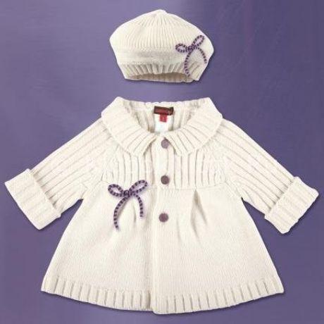 Детское пальто спицами для девочки и мальчика: модели, схемы вязания, узоры и описание. Как связать детское пальто для девочки с капюшоном, летнее, теплое, на осень, весну, белое, розовое?