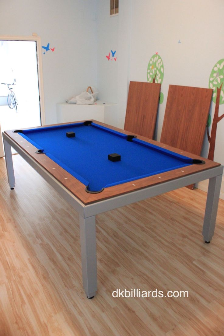 Modern Style Pool Table With Dining Top U2013 DK Billiards Pool Table Moving U0026  Repair
