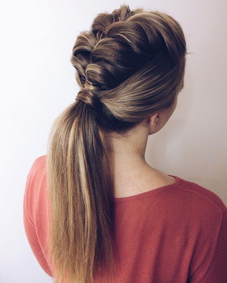Я обожаю этот хвост с плетением  Все причёски по хэштегу ⏩⏩⏩ #укладка_hairvoyage #summer #hair #limitededition #beach #texture #girl #beauty #love #l4l #instagood #instagram #like4like #волосы #photooftheday#zoneconcept#milkshake #tigi #tigirussia #bedhead #summer #hair #limitededition #beach #texture #girl #beauty #love #l4l #instagood #instagram #like4like #волосы #photooftheday#hairstyle#hair#hairstyles#hairdresser