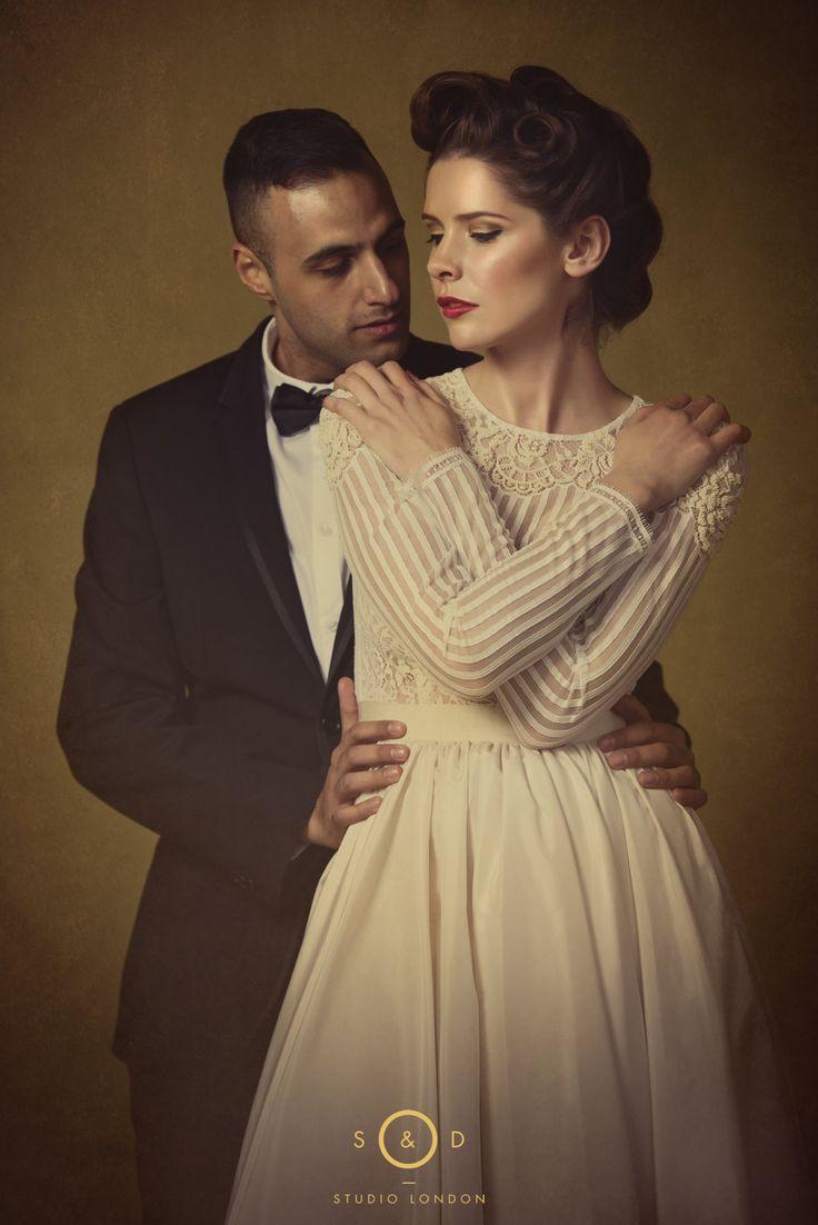 © SikhandDread Wedding Couple Portrait - Shendish Manor