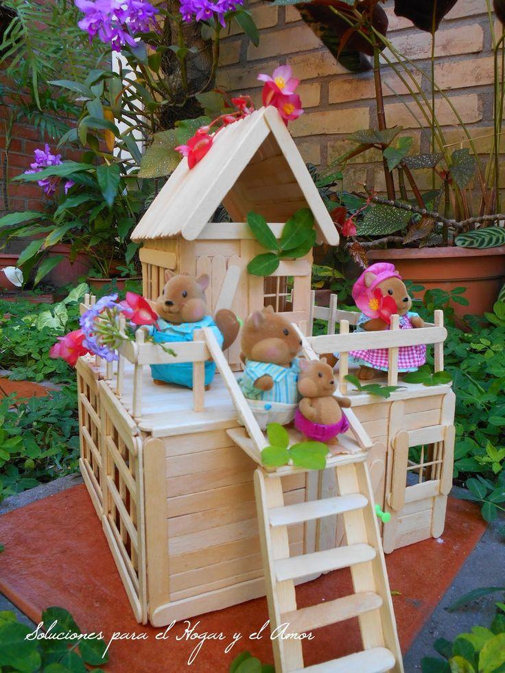 Mejores 60 im genes de maquetas en pinterest casas de - Limpiar la casa de barbie ...