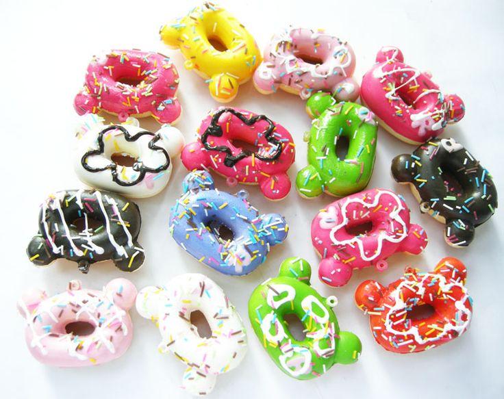 Rilakkuma Bear Doughnut/Donut Squishy Cell Phone Charms · Kawaii Squishy Shop · Online Store Powered by Storenvy