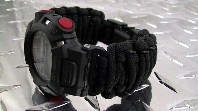 Tactical Para-Cord Watch Band 16mm Casio G-Shock