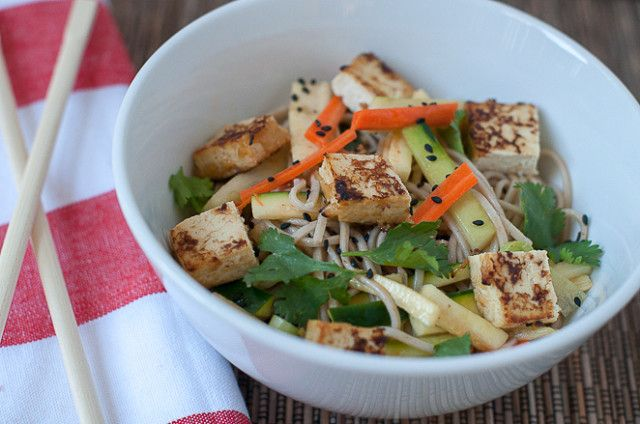 ... Want to Make on Pinterest | Soba noodles, Salads and Grilled eggplant