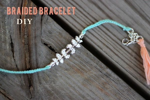 Braided Bracelet DIY | Two Delighted..MOPS??