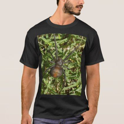 Redback Spider On Green Grass T-Shirt - beauty gifts stylish beautiful cool