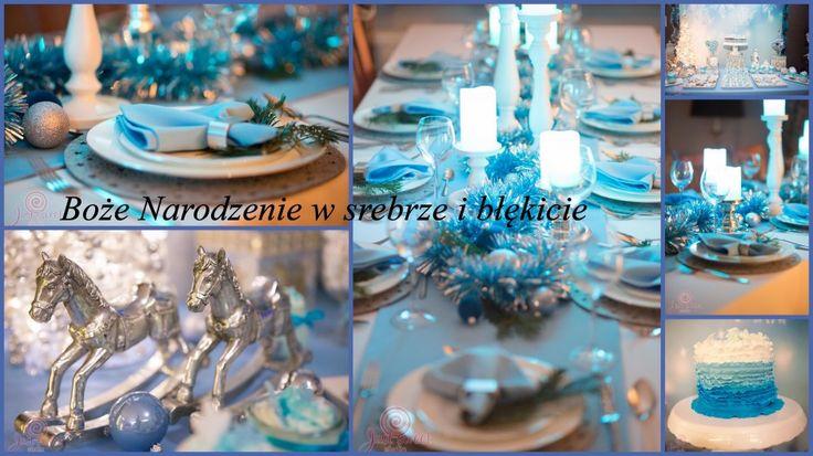 Boże Narodzenie w srebrze i błękicie / Silver