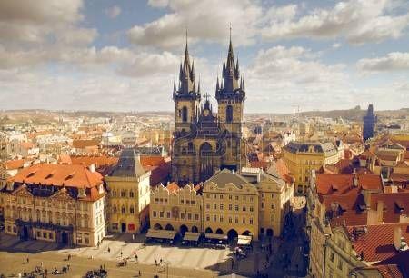tschechische republik: Hauptplatz in Prag