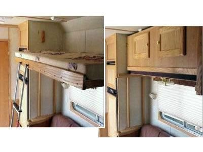 Bunk Beds1 Jpg 400 215 300 Camper Conversion Pinterest