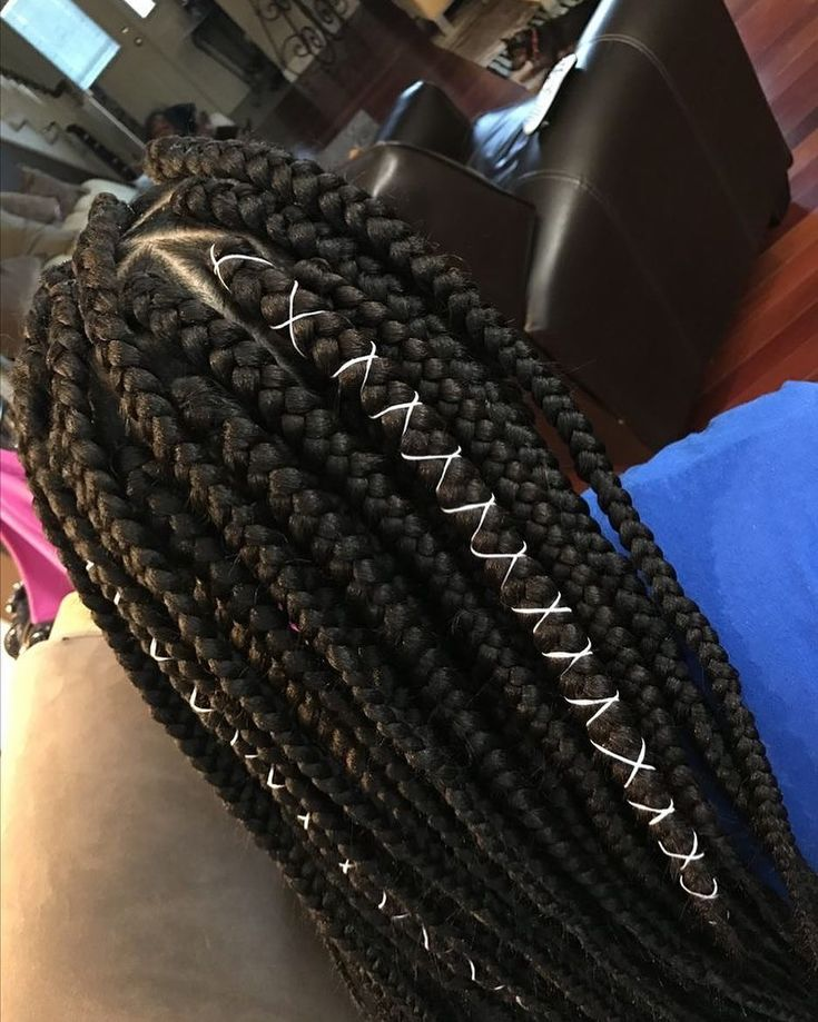 "2,267 curtidas, 7 comentários - Box Braids (Not My Work) (@_boxbraids) no Instagram: ""Jumbo box braids"""