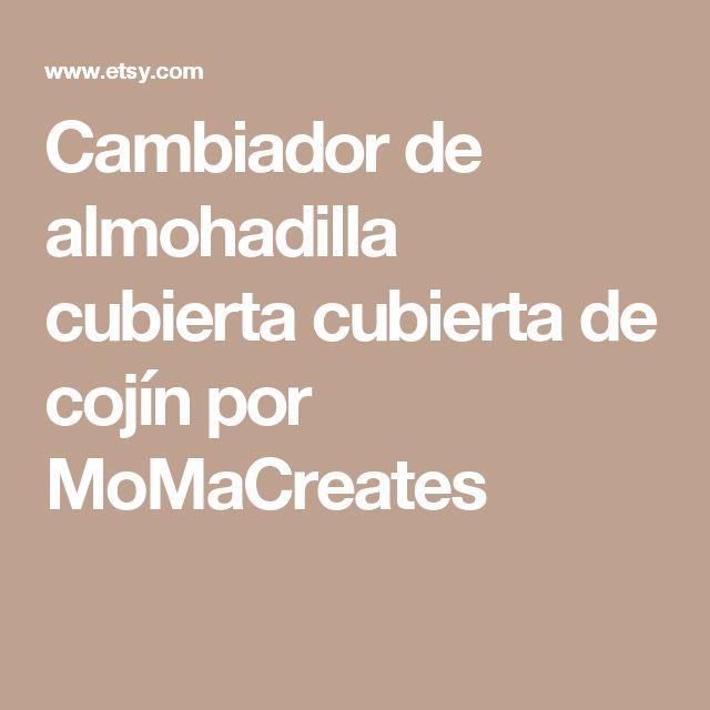 Cambiador de almohadilla cubierta cubierta de cojín por MoMaCreates