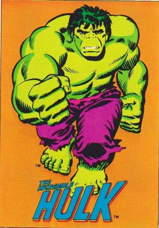 Vintage Incredible Hulk 99