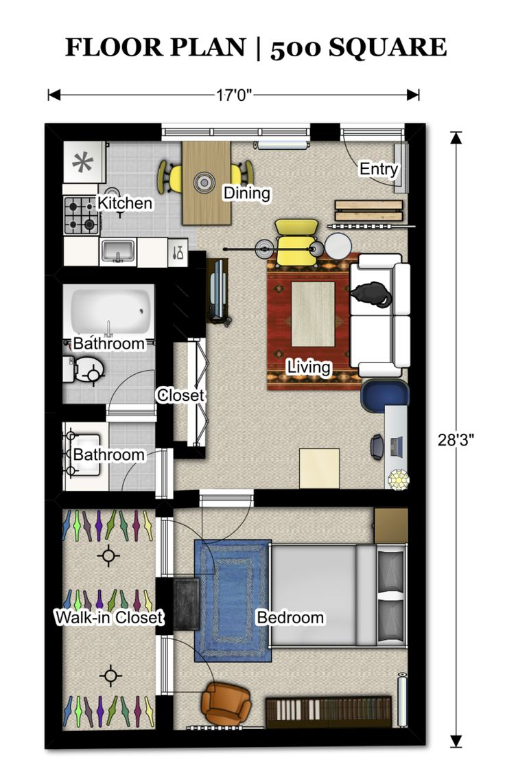 The 26 best images about 400 sq ft floorplan on pinterest for Floor plan database