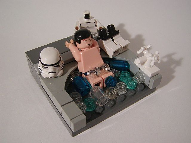 Relaxing in the bath after a hard day of stormtrooping! kn