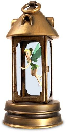 WDCC Disney Classics Peter Pan Tinker Bell In Lantern Pixie In Peril #WDCCDisneyClassics #Art. Tinker Bell's Wings: Pewter. Lantern: Pewter and glass. First open edition Members-Only release from the Walt Disney Collectors Society. Will be available to Society members until retired.