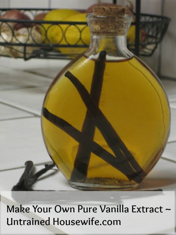 How to make your own vanilla extract - perfect homemade gift idea. Beautiful, easy, great DIY recipe for anyone who wants high quality vanilla at homemade prices.