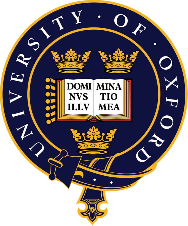 University of Oxford crest - Nice clean belt, crowns & book