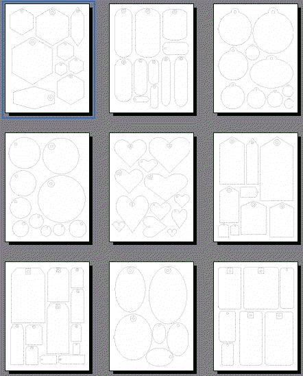 Free printables that can be printed or turned into PNG files to trace and cut in SCAL