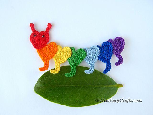 Mejores 1251 imágenes de Crocheted Applique en Pinterest | Apliques ...